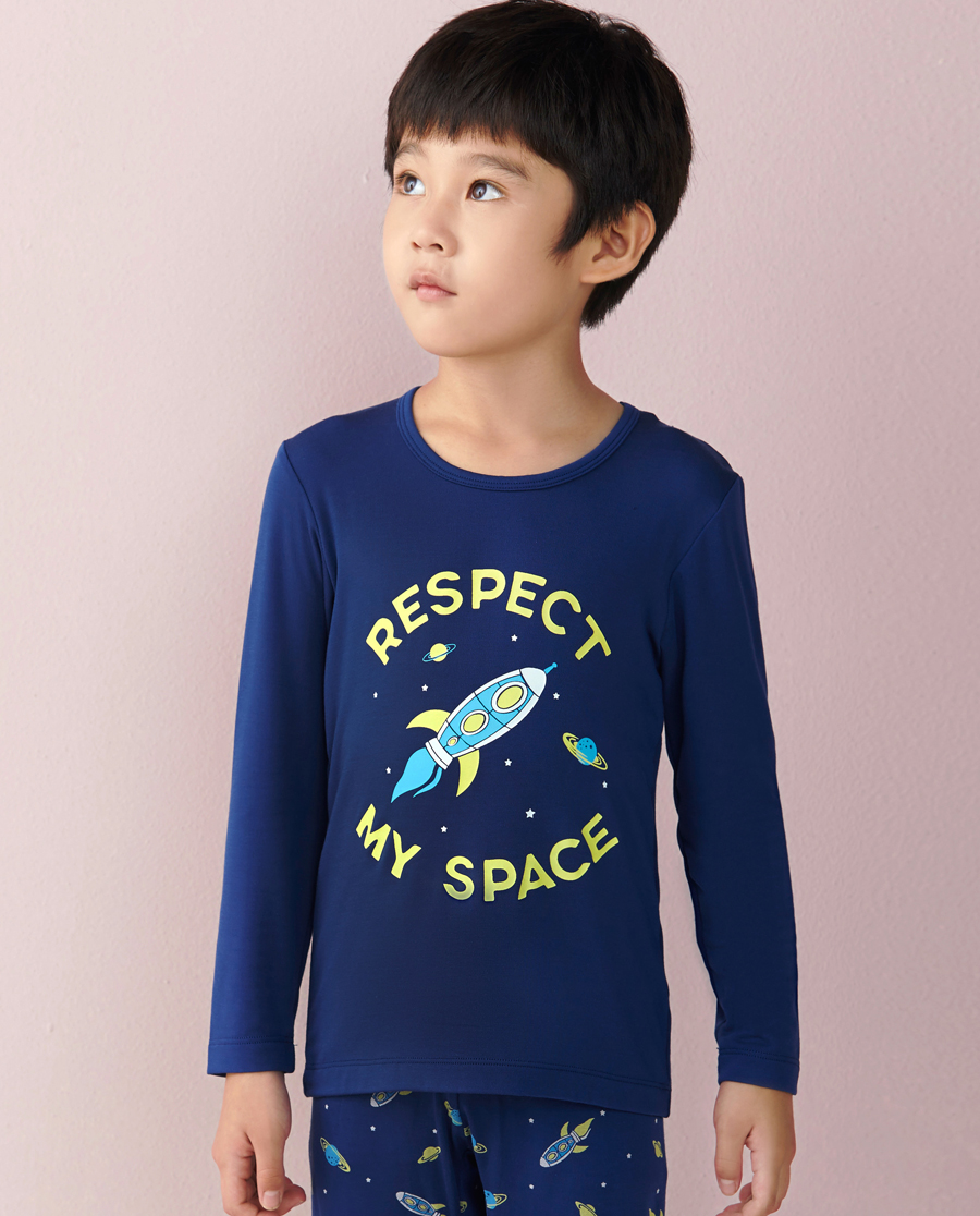 Aimer Kids保暖 爱慕儿童太空漫游长袖上衣AK2720681