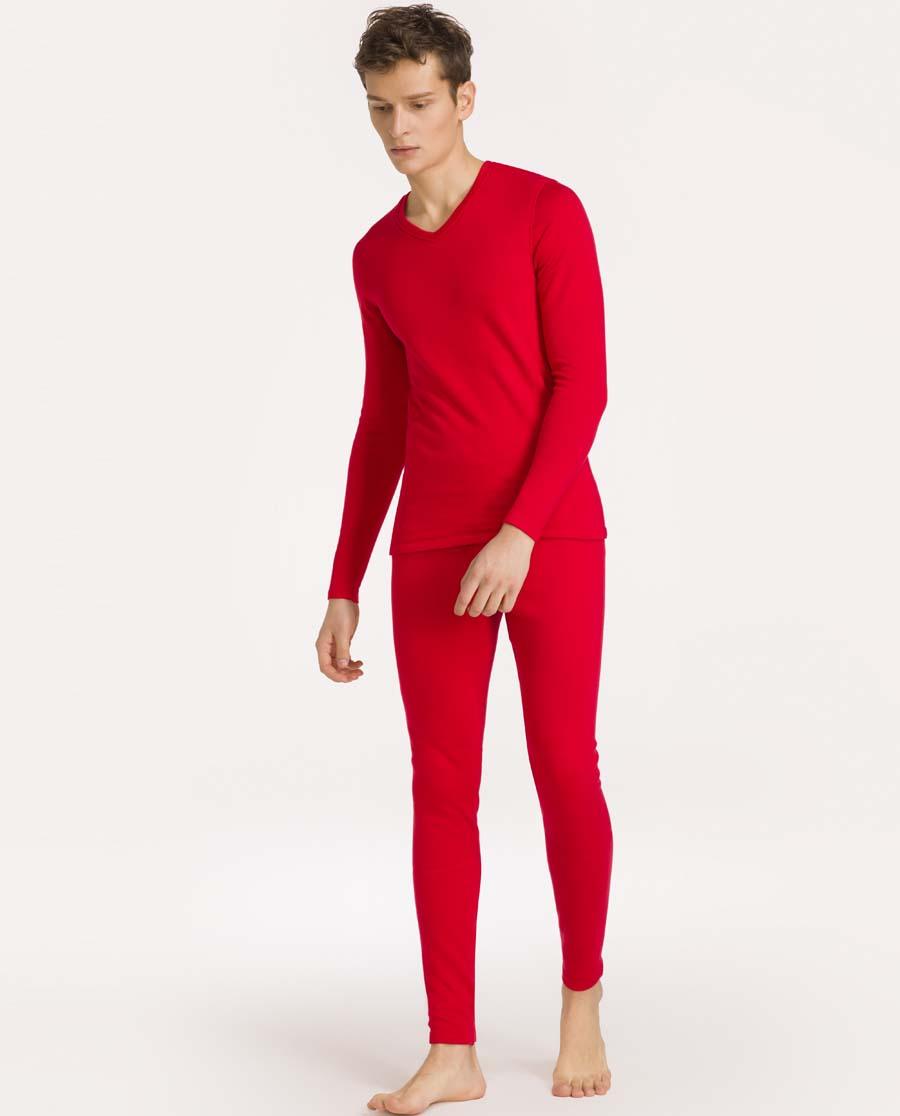 imi's保暖|爱美丽加绒双层保暖男式双层保暖长裤IM73ANC1