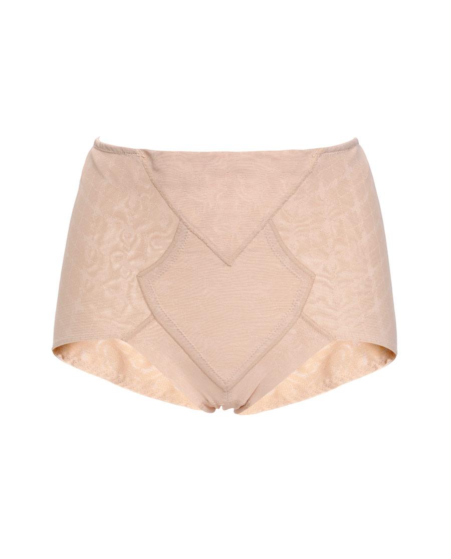 爱慕慕澜菱塑重型中腰短款平角塑裤AD33D22