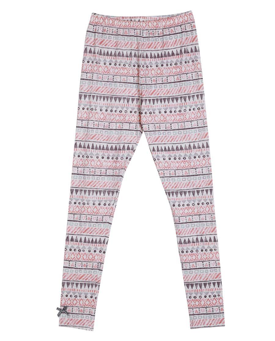 imi's保暖|爱美丽TEEN-保暖小小猫头鹰棉氨纶长裤