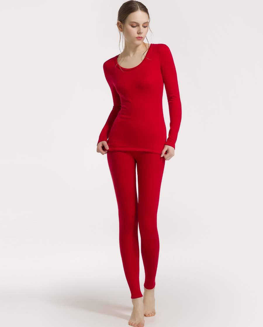 imi's保暖|爱美丽加绒双层保暖女式双层保暖长裤IM73ANC2