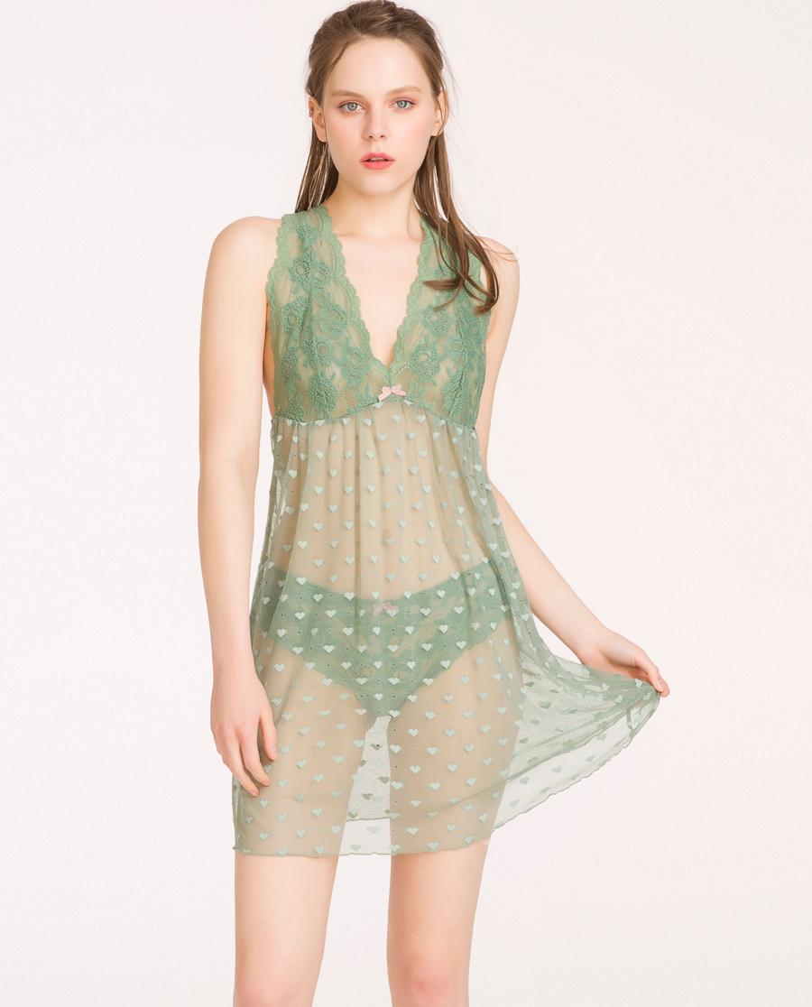 imi's睡衣|【两件75折】爱美丽女士内衣蕾丝镂空打底