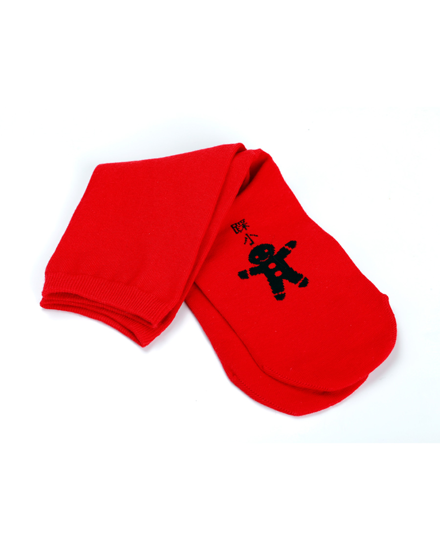 imi's袜子|爱美丽18AW袜子两联包踩小人袜子(2件