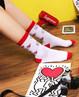 Aimer袜子|爱慕KeithHaring凯斯哈林(2件包)女式棉袜AM943011