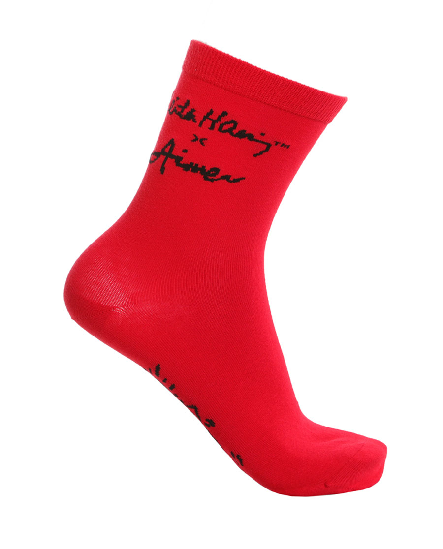 Aimer Men袜子|ag真人平台先生KeithHaring凯斯哈林袜