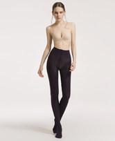 爱美丽打底裤袜提花紫色连裤袜IM82AQB6