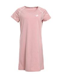 爱慕家品星之棉柔短袖中长睡裙AH440362