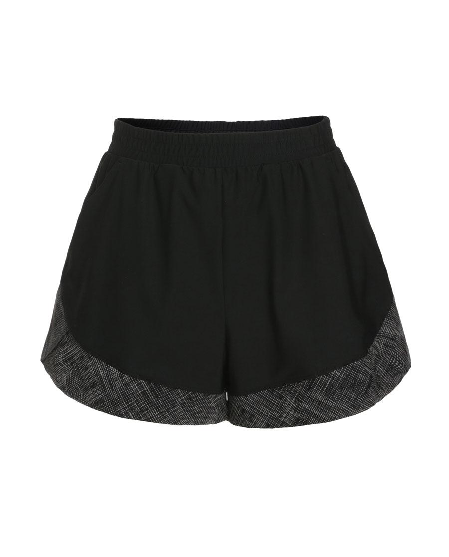 Aimer Sports运动装|爱慕运动星夜酷跑反光跑步短裤AS151G11