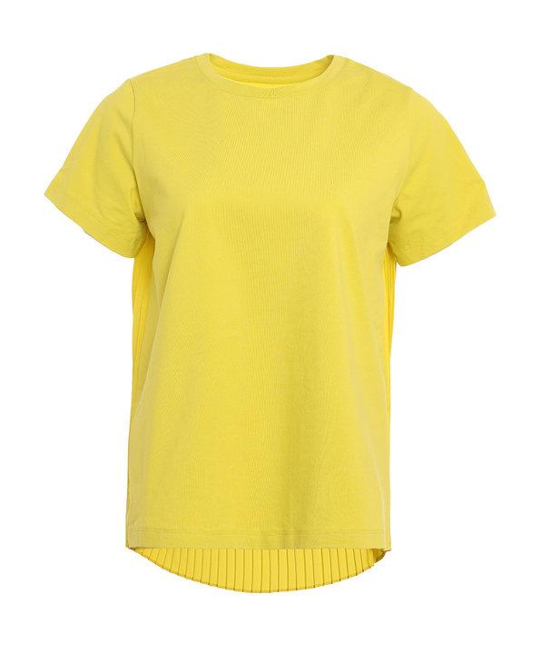Aimer Sports睡衣|爱慕运动FREE MAN后背百褶短袖上衣AS143F71
