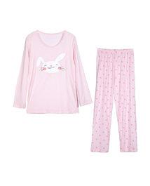 爱慕儿童天使爱兔儿女童长袖家居套装(2件装)AK1430881