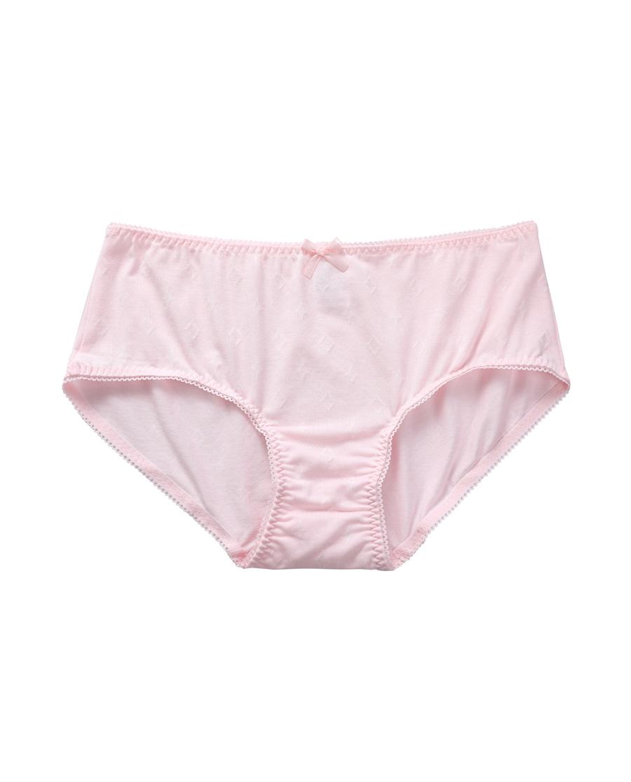 Aimer Junior内裤|爱慕少年闪耀牛奶女童中腰平角内裤AJ1230771