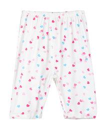 爱慕婴儿爱心兔宝女幼婴七分裤AB1421003