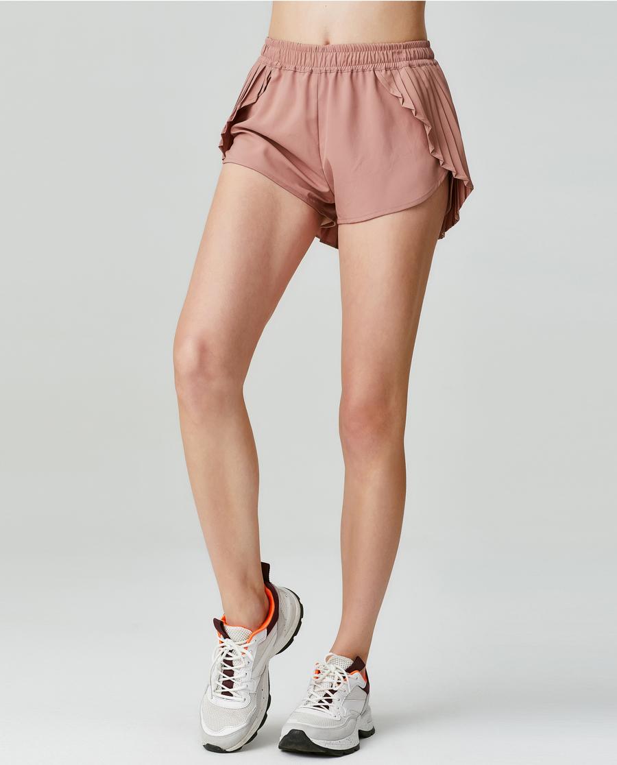 Aimer Sports运动装|ag真人平台运动FREE MAN裙式跑步短裤AS151F71
