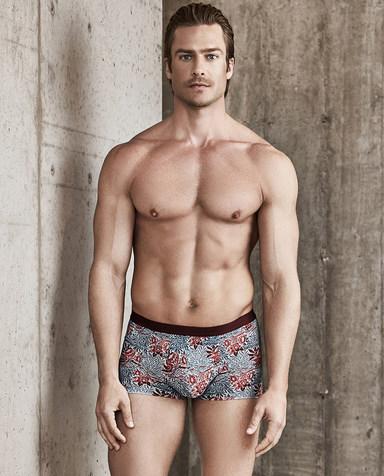 Aimer Men内裤|爱慕先生-USPACE中腰平角内裤NS23B582
