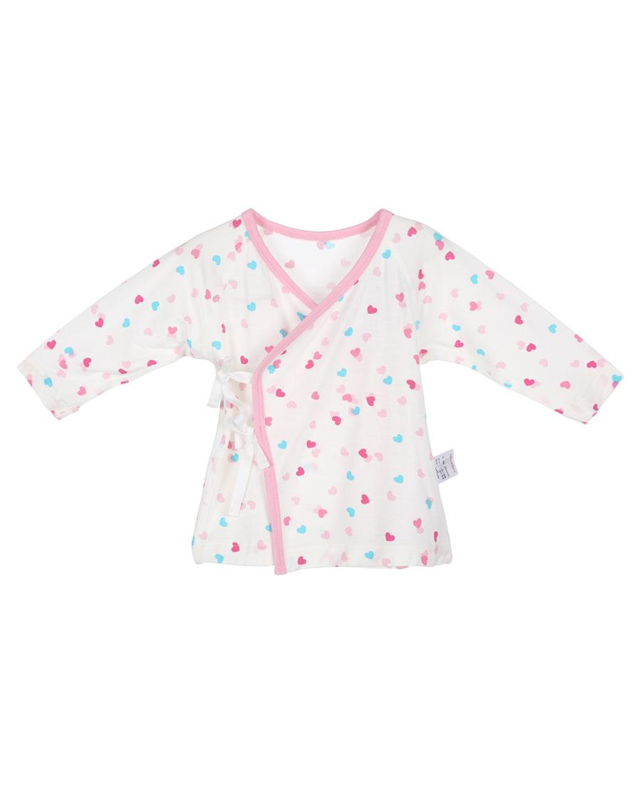 Aimer Baby睡衣|爱慕婴儿爱心兔宝女幼婴系绳长袖上衣AB1411001