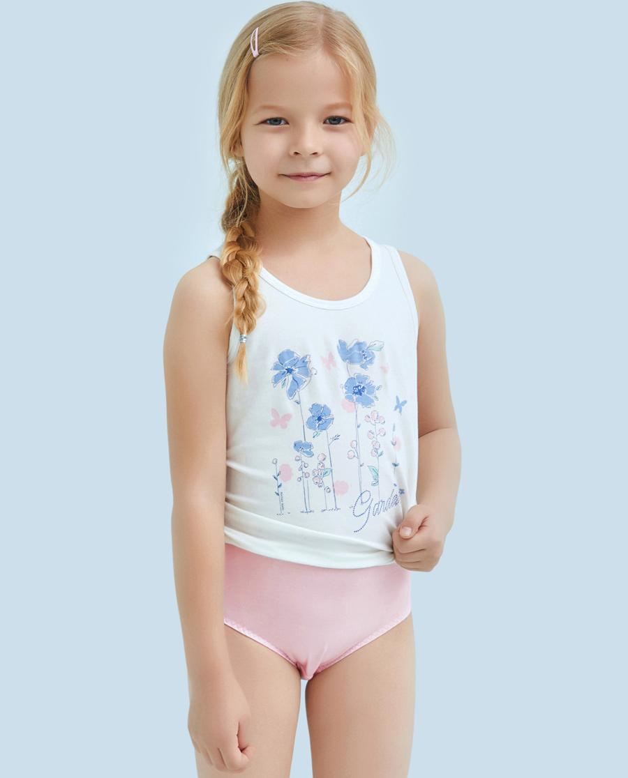 Aimer Kids内裤|ag真人平台儿童天使小裤MODAL印花气球小天马中腰三角裤AK1221202