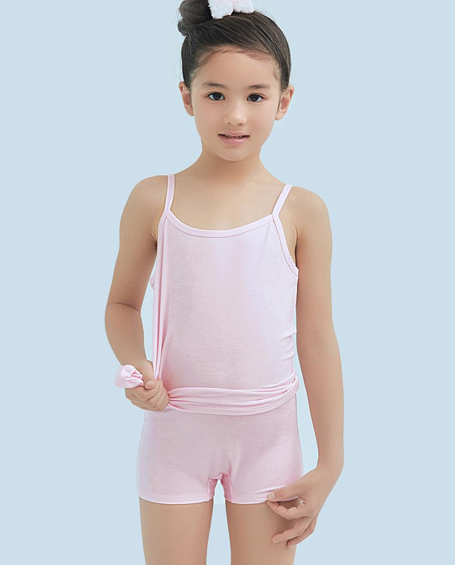 Aimer Kids内裤|爱慕儿童甜心马卡龙中腰平角内裤AK1230921