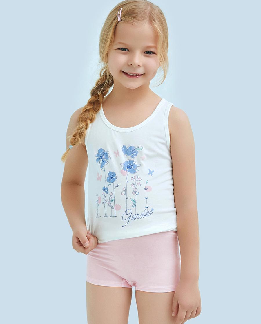 Aimer Kids内裤|ag真人平台儿童天使小裤MODAL印花气球小天马中腰平角内裤AK1231202