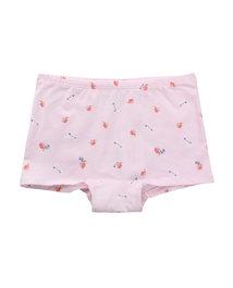 爱慕儿童天使小裤棉氨纶印花小兔子吃苹果女童中腰三角内裤AK1231211