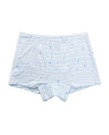 爱慕儿童天使小裤MODAL印花条纹星星男童中腰平角内裤AK2231201