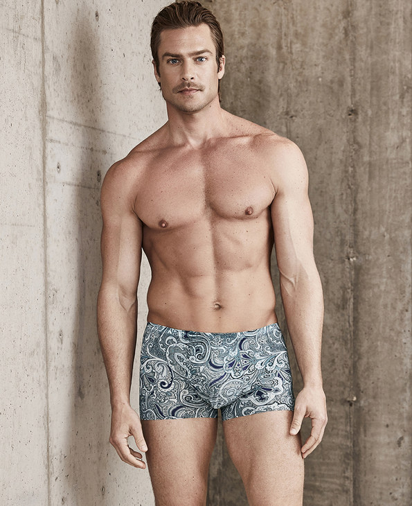 Aimer Men内裤|爱慕先生-USPACE中腰平角内裤NS23B581