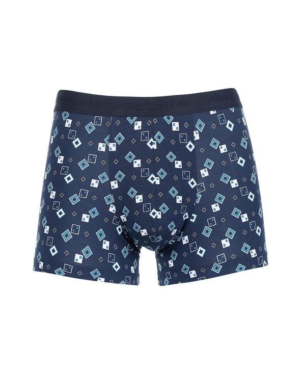 Aimer Men内裤|爱慕先生莫代尔印花中腰平角内裤NS23B751