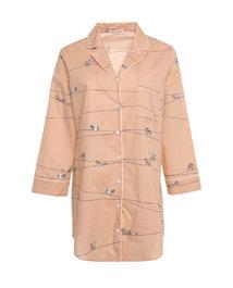 爱慕家品趣享生活中长衬衫裙AH440401
