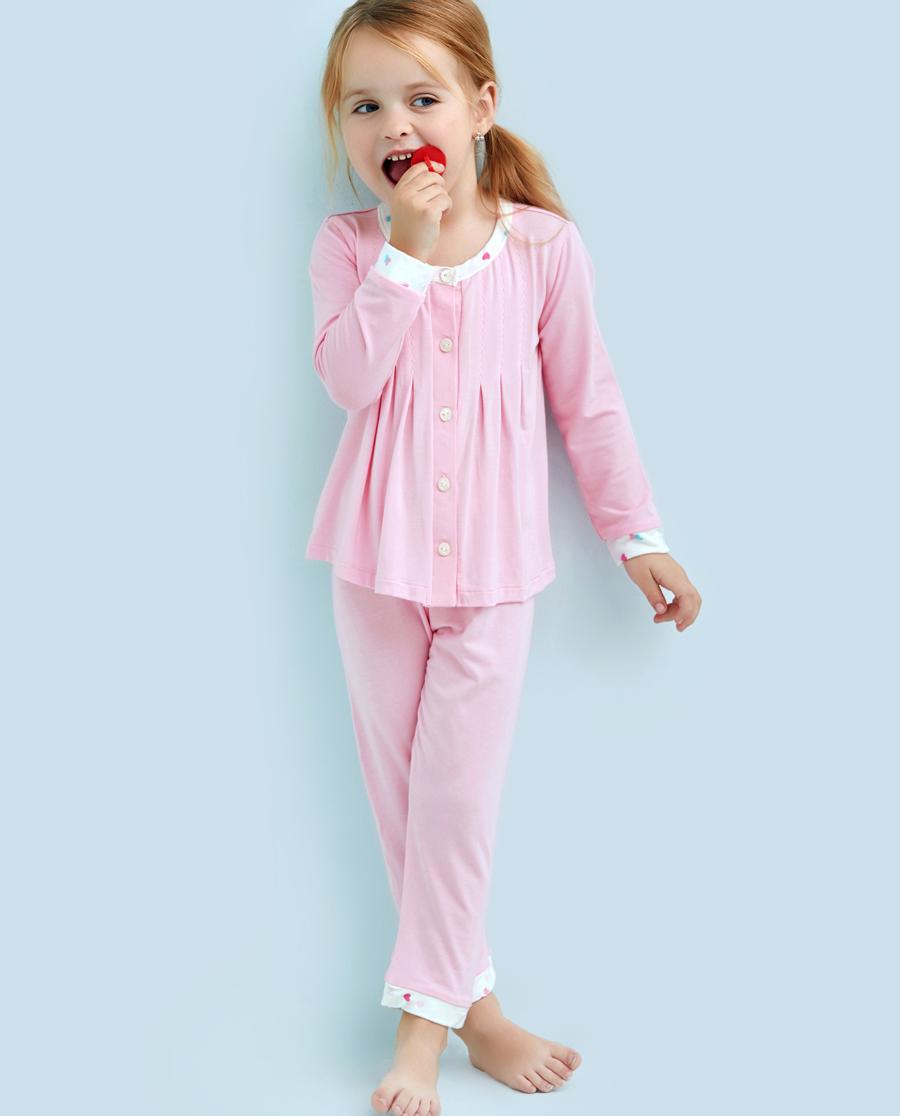 Aimer Kids睡衣|爱慕儿童甜心女孩长裤AK1421271
