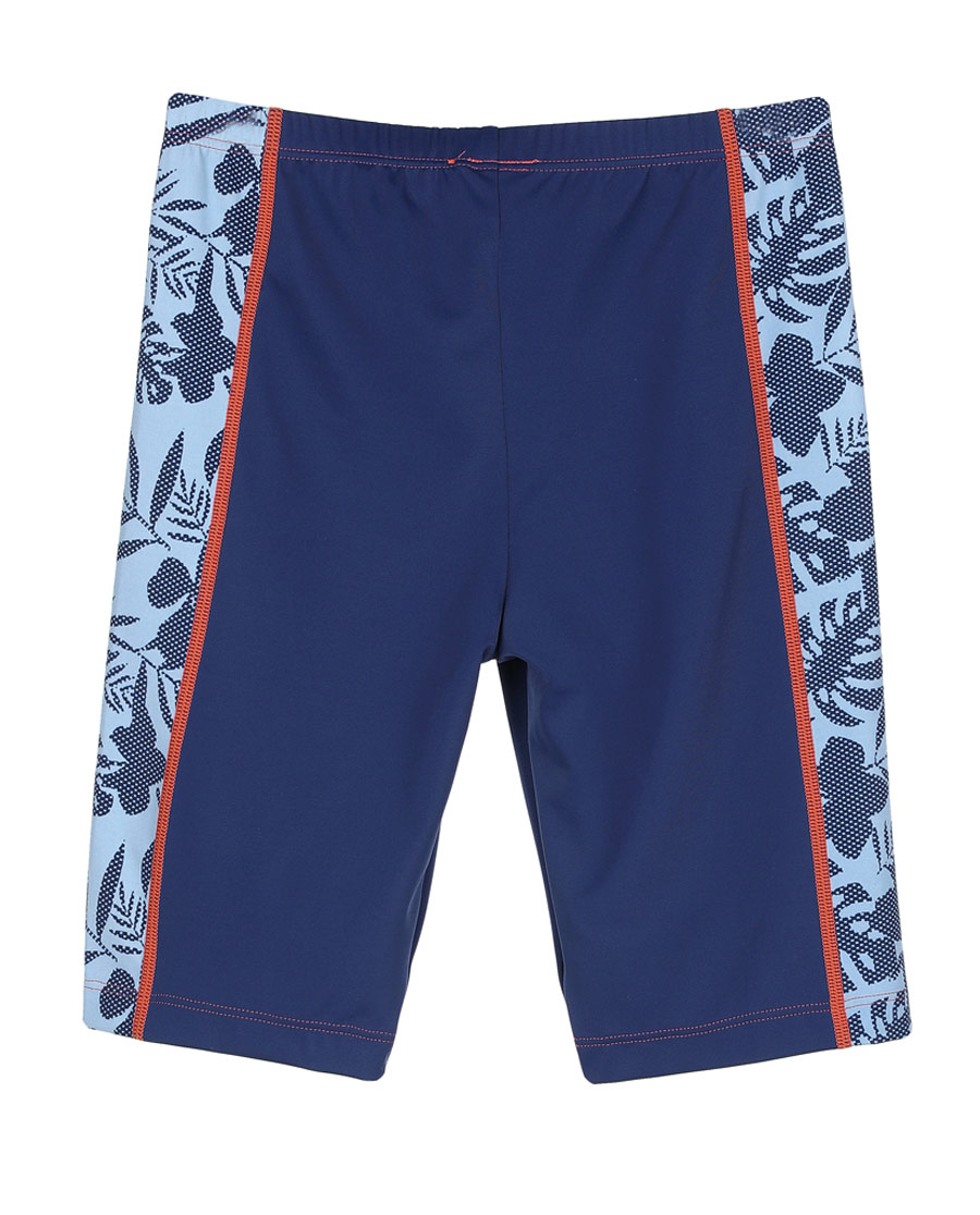 Aimer Kids泳衣|爱慕儿童热带风情男童五分泳裤AK2671