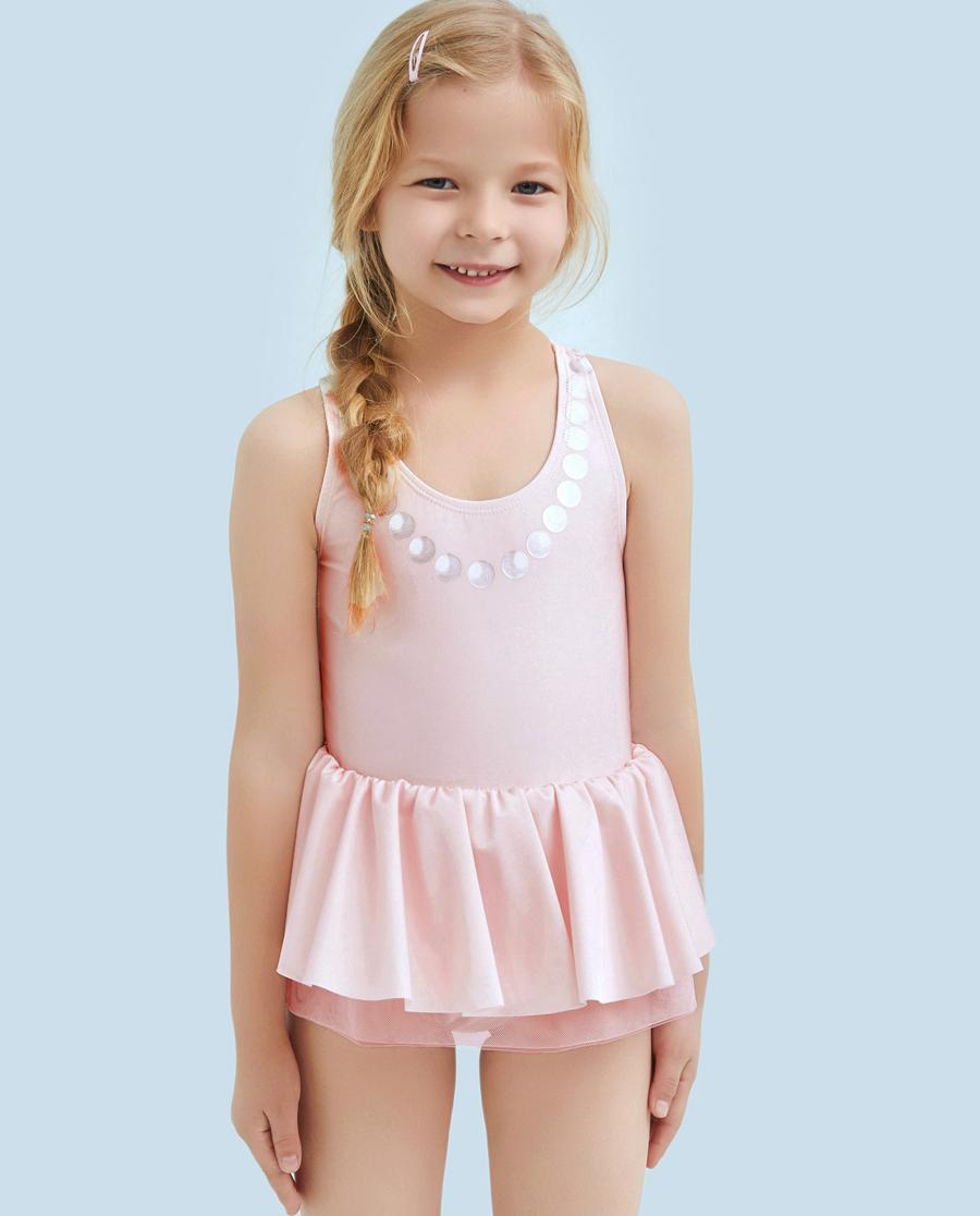 Aimer Kids泳衣|爱慕儿童公主梦连体泳衣AK1671521