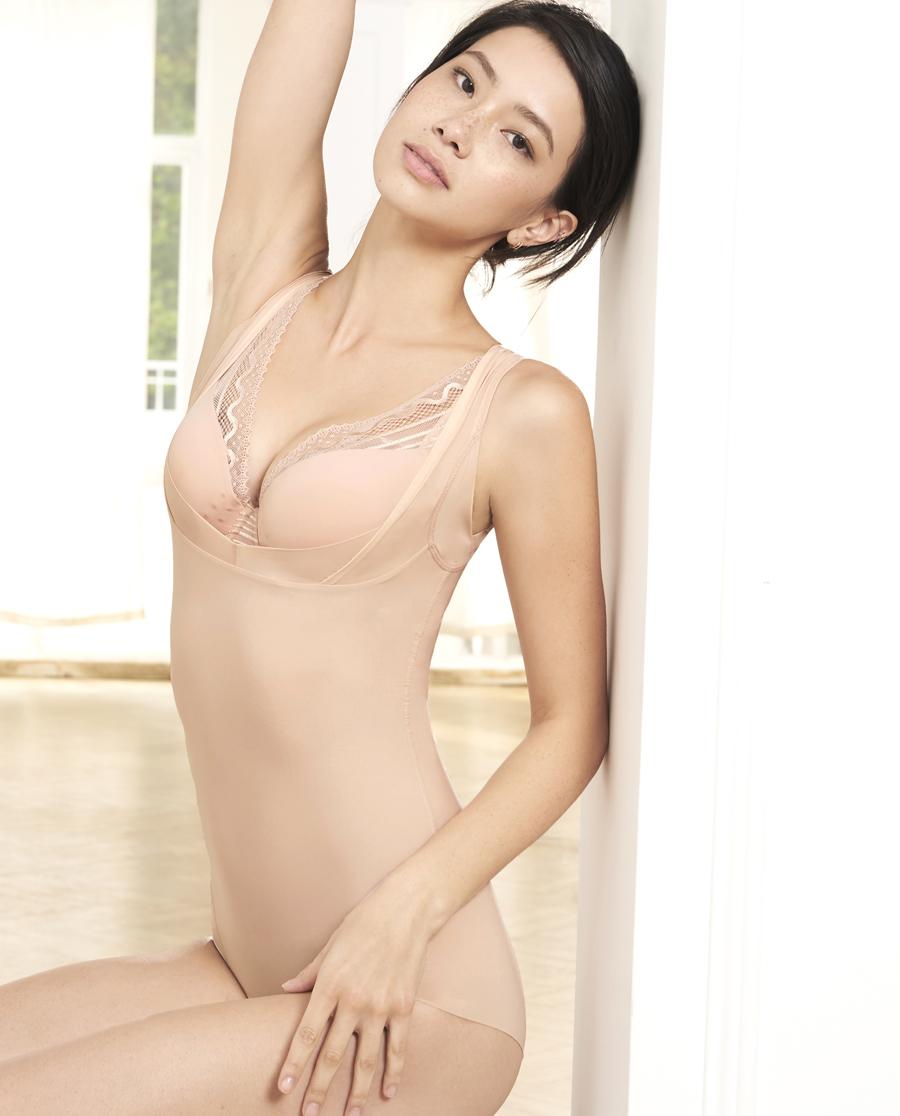 MODELAB美体|爱慕慕澜MINI塑中型连体平角美体衣AD