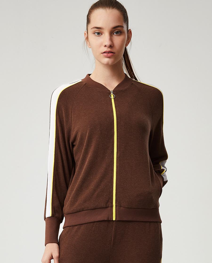 Aimer Sports睡衣|ag真人平台运动温暖物语IV立领拉链休闲外套AS144F93