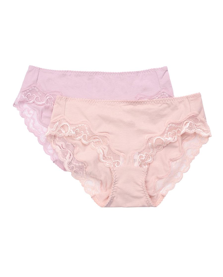 Aimer内裤|爱慕迷笛低腰三角裤(2件包)AM222721