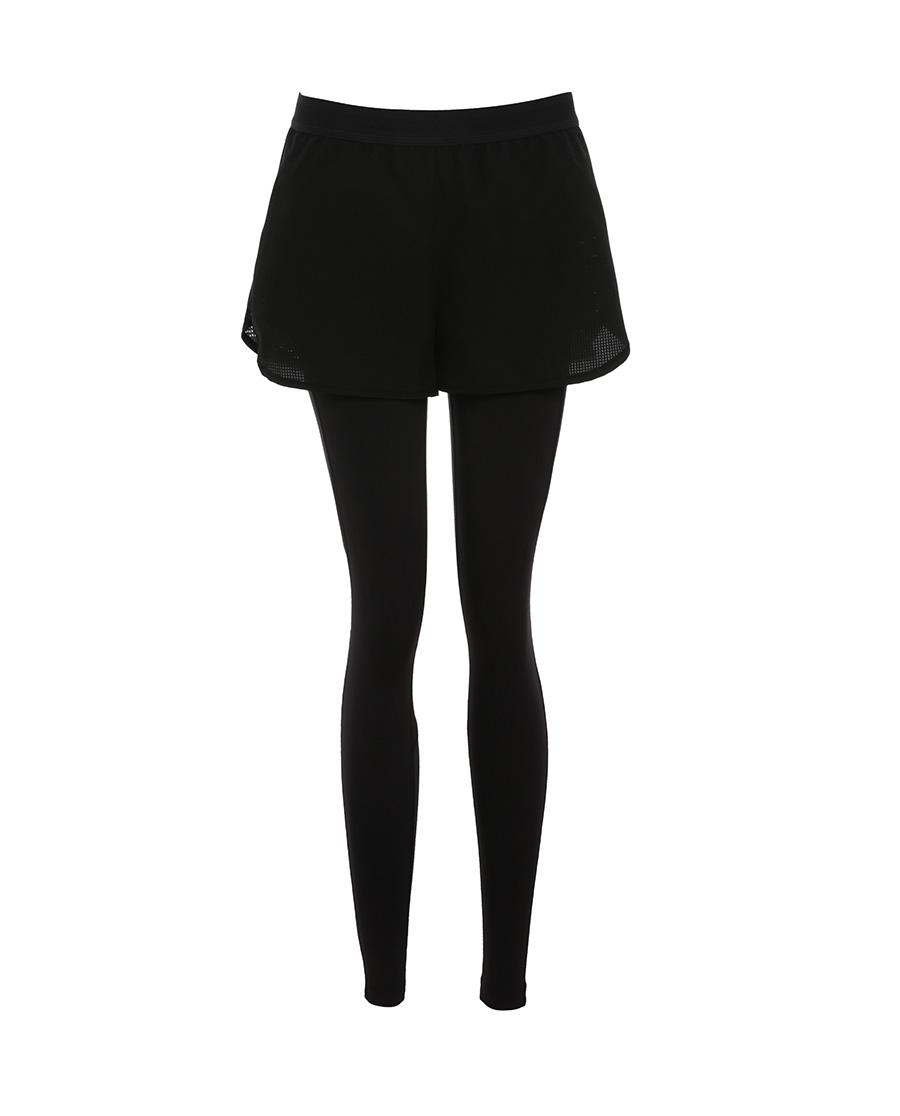 Aimer Sports运动装|爱慕运动星夜酷跑两件套跑步长裤AS153G11
