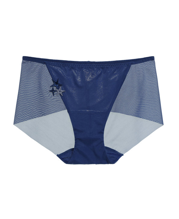 Aimer内裤|爱慕星光中腰平角裤AM232381