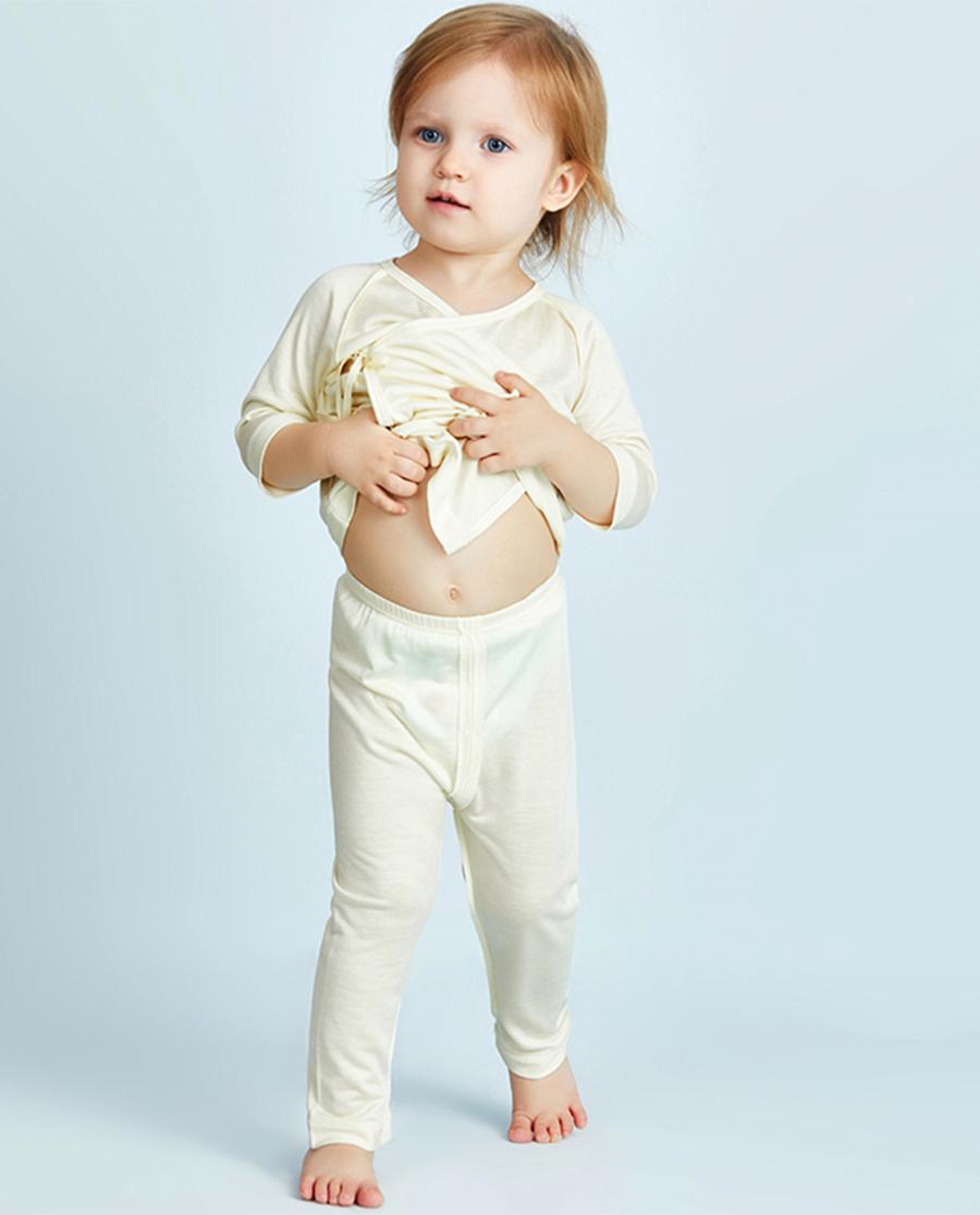 Aimer Baby睡衣|爱慕婴儿丝滑宝贝两用裆长裤AB3731041
