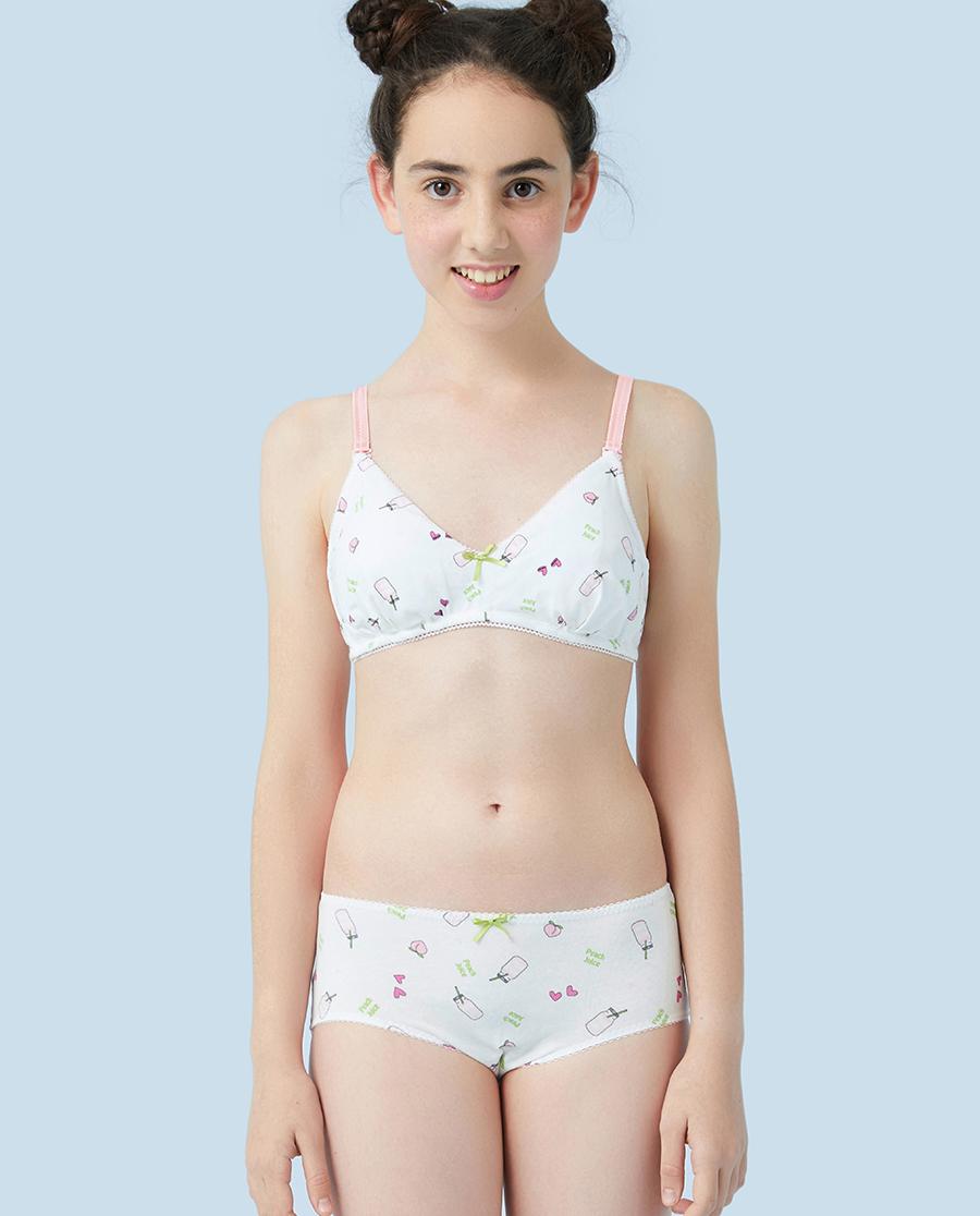 Aimer Junior内裤|爱慕少年蜜桃juice中腰平角裤AJ1230721