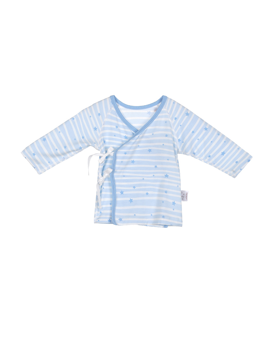 Aimer Baby睡衣|爱慕婴儿飞天环游记男幼婴系绳长袖上衣AB2411011
