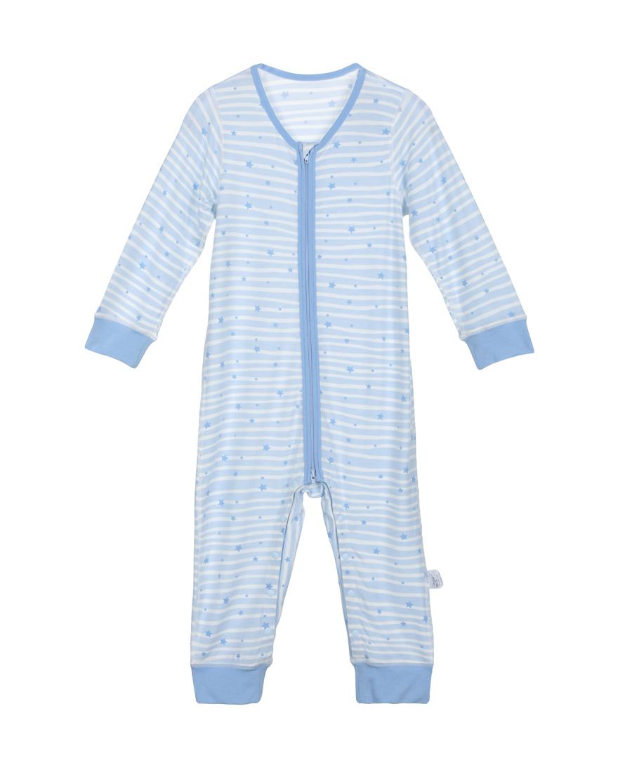 Aimer Baby保暖|爱慕婴儿飞天环游记男幼婴长袖连体爬服AB2751012