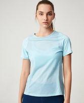 爱慕运动夏练II网眼拼接短袖T恤AS143G62