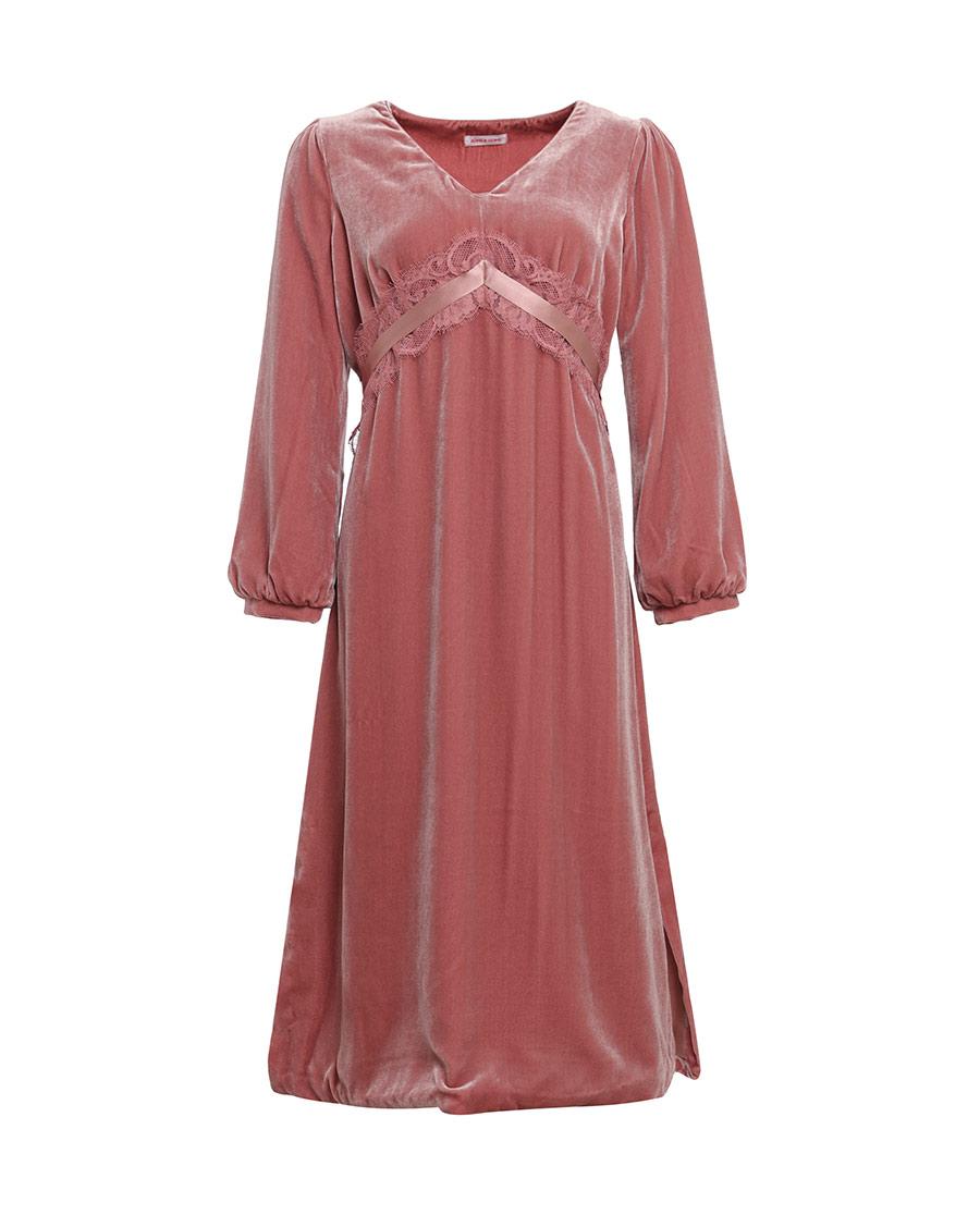 Aimer Home睡衣|ag真人平台家品然感受中长睡裙AH440511