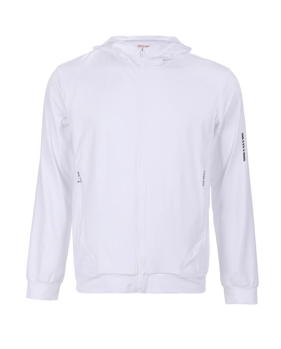 Aimer Men運動裝|愛慕先生酷感運動帽衫拉鏈長袖上衣NS62