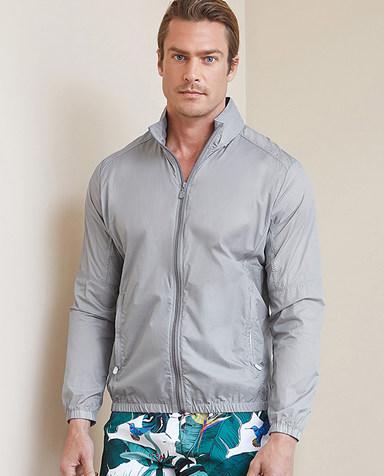 Aimer Men休闲外穿|爱慕先生度假系列拉链长袖上衣NS81B651