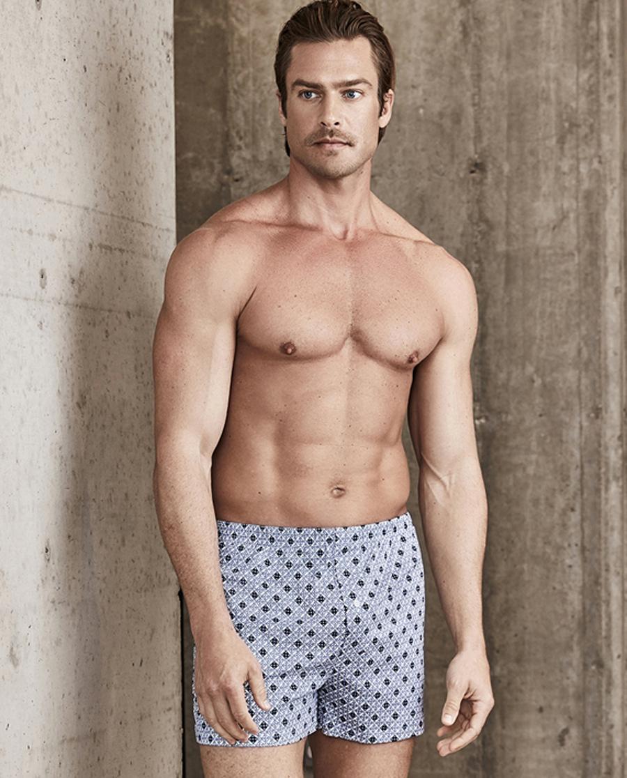 Aimer Men内裤|ag真人平台先生针织包腰四角裤NS24C061