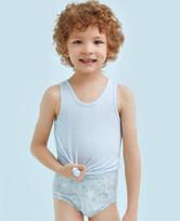 爱慕儿童天使小裤MODAL印花满天星中腰三角内裤AK2221203