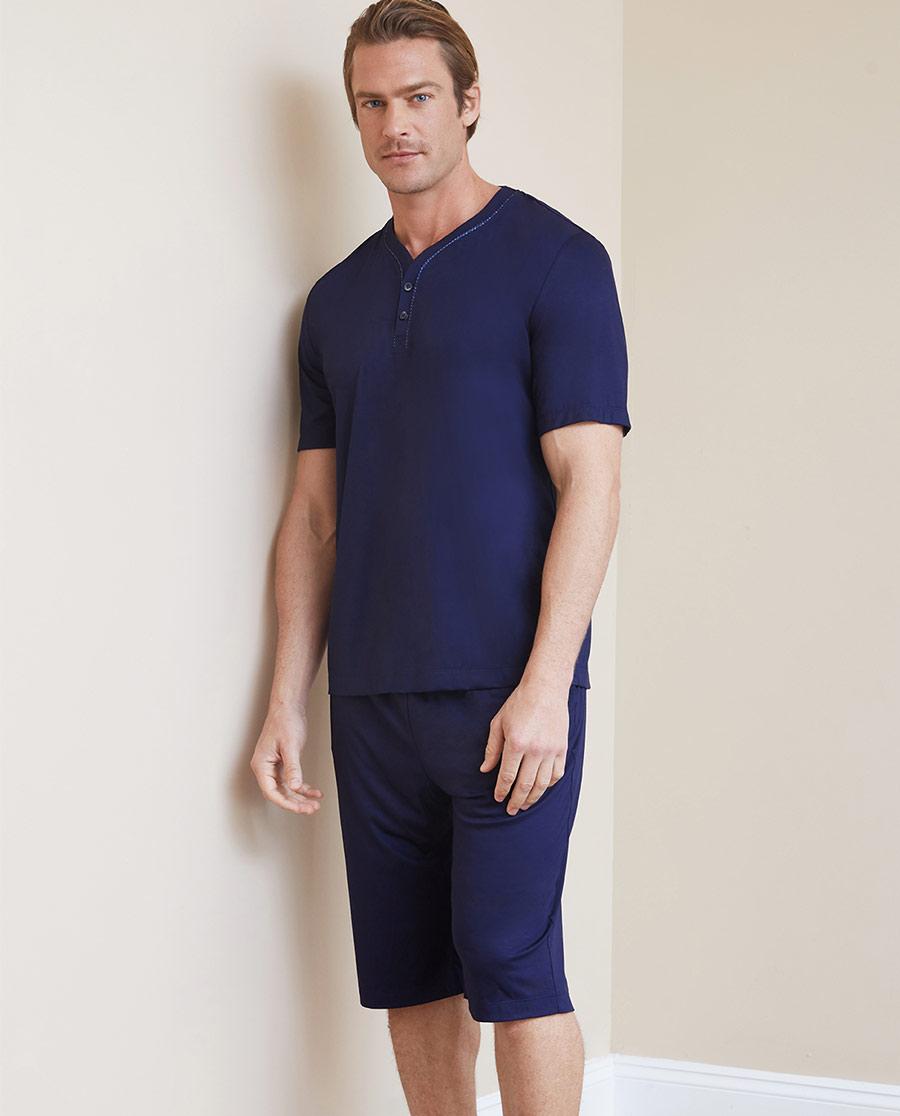 Aimer Men睡衣|爱慕先生纵享丝滑家居短裤NS42C094