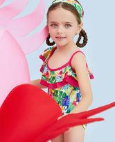 爱慕儿童雨林之歌连体泳衣AK1671582