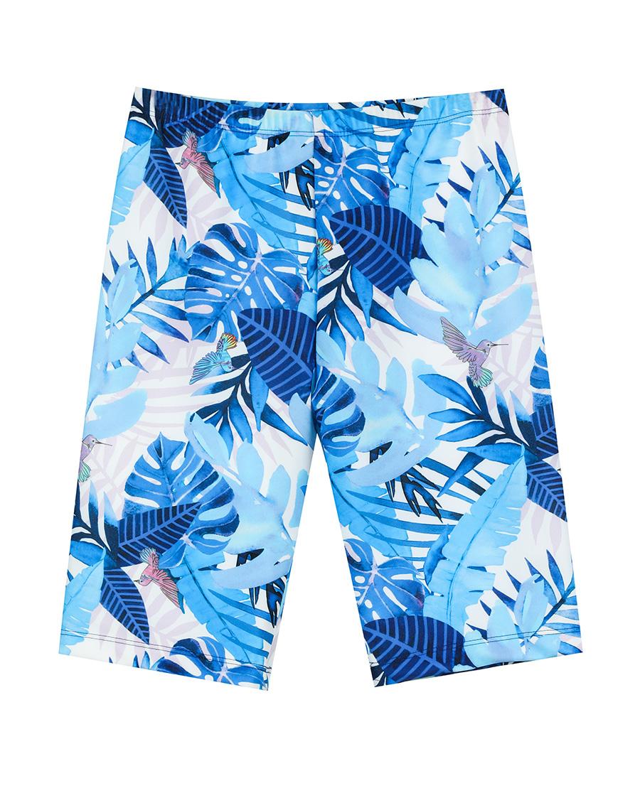 Aimer Kids泳衣|爱慕儿童雨林迷踪五分泳裤AK267158