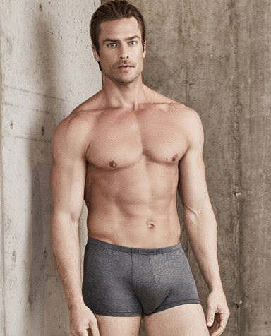 Aimer Men内裤|爱慕先生棉包腰平角裤NS23B601