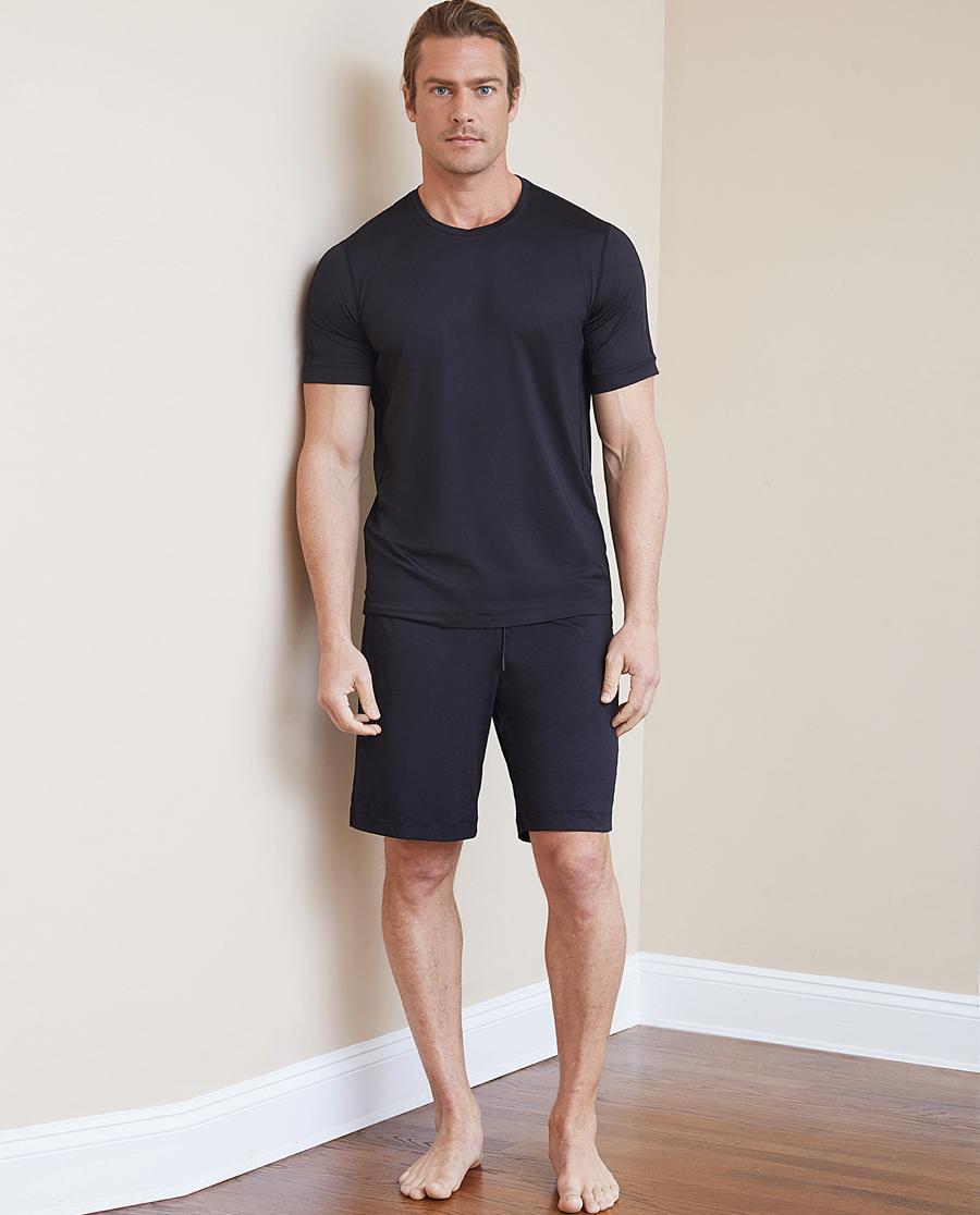 Aimer Men运动装|爱慕先生酷感运动短裤NS63B721